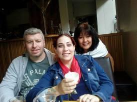 John, Ann & Celine Dublin