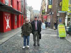 Sean & me in Temple Bar